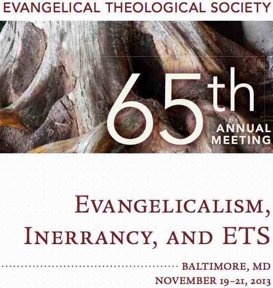 ETS 2013 Reformed Theology On the Authorship of Sin - Evil (4 mp3s)